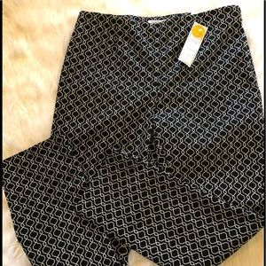 NWT Charter Club ankle pant black size 10